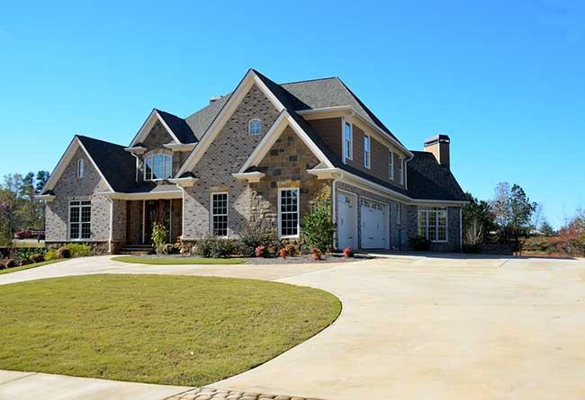 house driveway