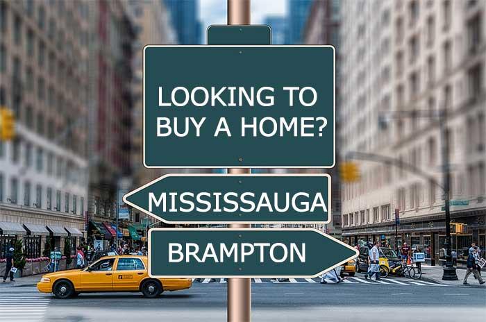 buy home Mississauga or Brampton