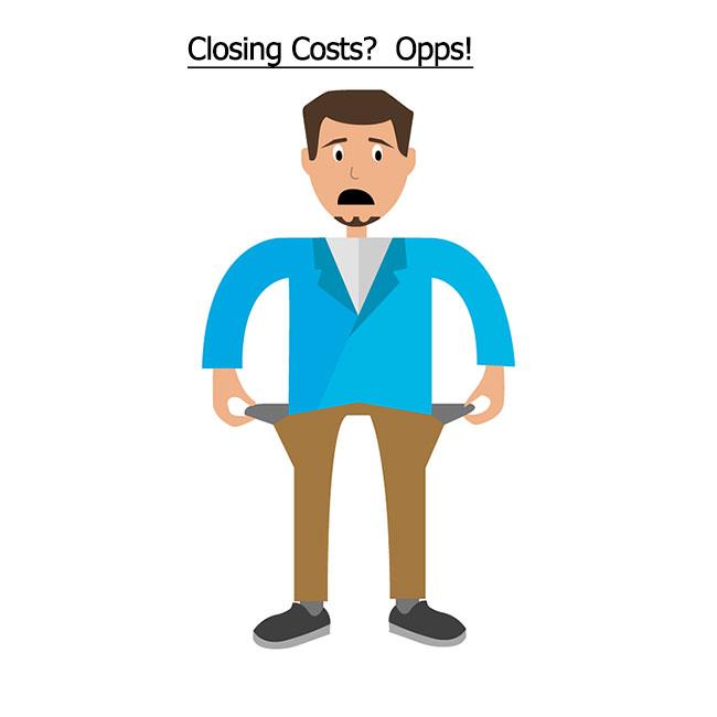 underestimate closing cost