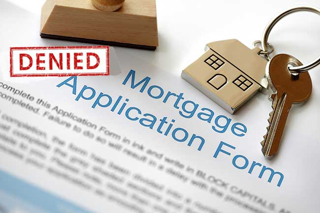 mortgage application rules