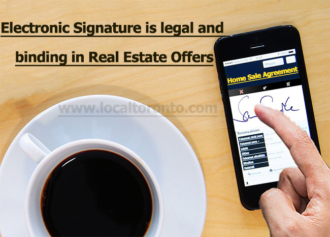 Electronic Signature Real estate