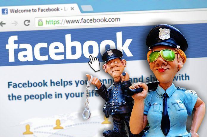 facebook fine
